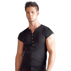 T-shirt homme manches courtes noir
