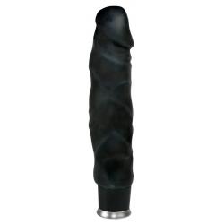 Gode réalistique vibrant noir
