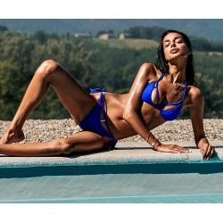 Bikini string bleu roi Obsessive