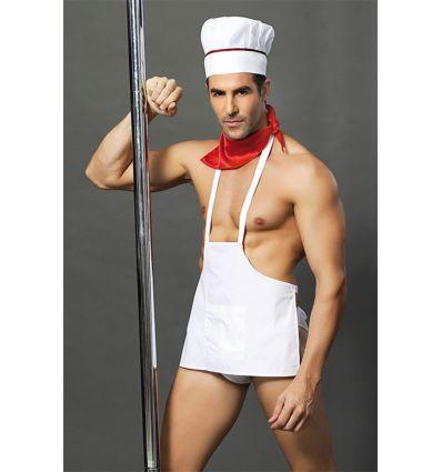 Costume sexy de cuisinier complet