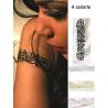 Tatoo - Bijoux de peau adhésif tour de bras