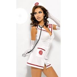 Tenue 4 pièces infirmière sexy