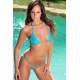 Micro bikini string triangle en tulle - 5 coloris