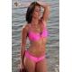 Bikini 2 pièces culotte lycra satiné - 4 coloris