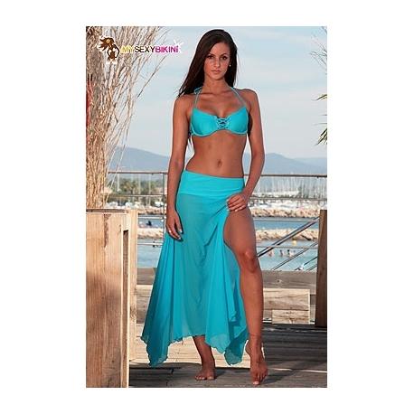 Paréo tenue de plage My Sexy Bikini voile lycra 6 coloris au choix