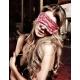 Masque loup satin rose Have Fun Princess