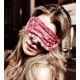 Masque loup satin rose Have Fun Princess