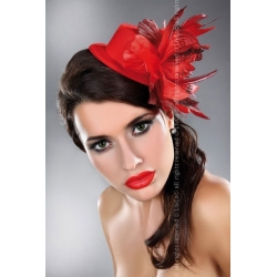Mini chapeau bibi rouge