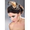 Mini chapeau bibi léopard