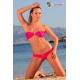 Bikini bandeau et slip tanga lycra - 7 coloris