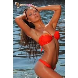 Bikini bandeau tanga BAHIA - 6 coloris
