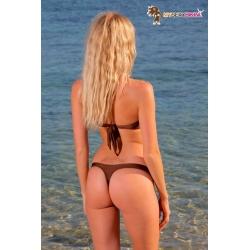 Bikini bandeau string BAHIA - 6 coloris