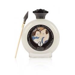 Peinture corps Shunga chocolat blanc