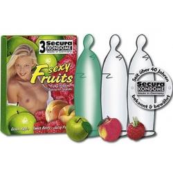 Préservatifs aux fruits