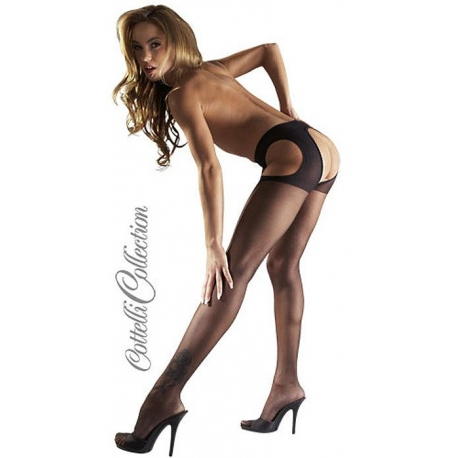 Collant ouvert voile sexy Lingerie sexy