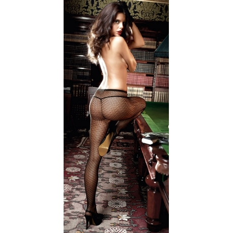 Collants résille fantaisie Agent