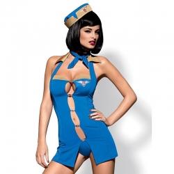 Costume sexy hôtesse de l'air