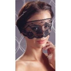 Masque sensuel dentelle noire