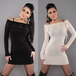 Robe pull mode manches longues