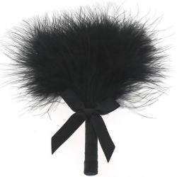 Plume noire à caresses