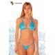 Bikini string triangle 2 pièces métallisé 5 coloris