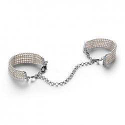 Menottes érotiques bijou perles