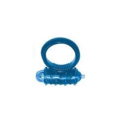 Cockring extensible vibrant bleu