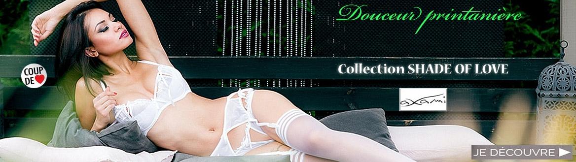 Nouvelle Collection lingerie fine et sexy Shades of Love de la marque Axami